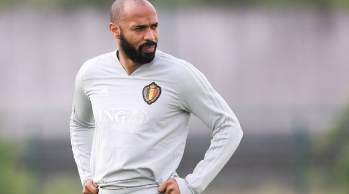 France's all-time top scorer Thierry Henry is Monaco's new manager