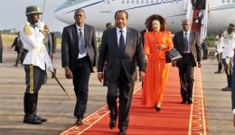 Biya in Europe amid strife in Cameroon