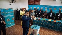 Cameroon and Gabon polls were to prolong unpopular regimes of Biya and Ali Bongo