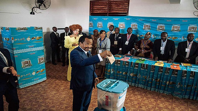 Biya still uses the machinery of the state to guarantee a single-party type of political domination
