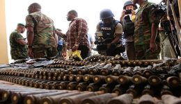Cameroon's Presidential Poll: Cache of weapons caught in Foumban