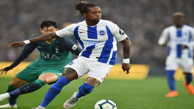 Cameroon's Brighton defender fined for speeding