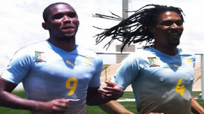 Uneducated Footballers Stain Cameroon Polity: Eto'o, Song endorse Biya