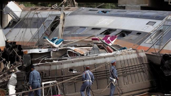 Morocco: 6 people killed in train derailment