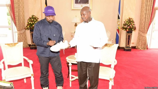 Uganda Hopes Kanye West, Kardashian Visit Boosts Tourism