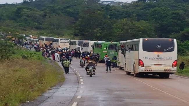 36 passengers kidnapped in Southern Cameroons released