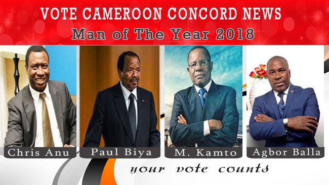 Who Should Be Cameroon Concord News Person Of The Year 2018?