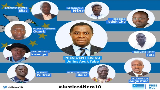 Ambazonia Interim Gov't reacts to the French Cameroun Appeal Adjournment decision