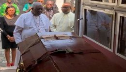 Cardinal Tumi pays homage to Kenyan priest slain by Francophone soldiers