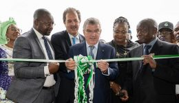 IOC Chief in Nigeria and Cameroon-Inaugurates new ANOCA Headquarters