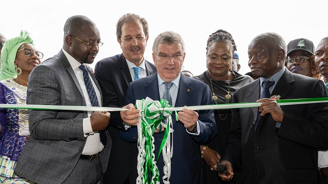 IOC Chief in Nigeria and Cameroon-Inaugurates new ANOCA Headquarters