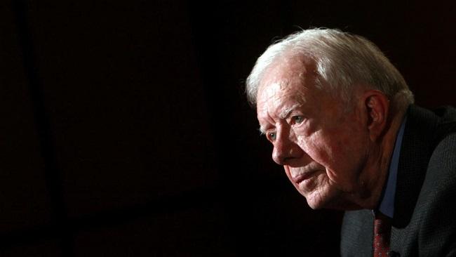 Former US President Jimmy Carter in Atlanta hospital