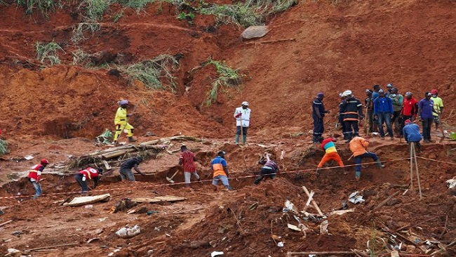 Girl Miraculously Survives French Cameroun Landslide