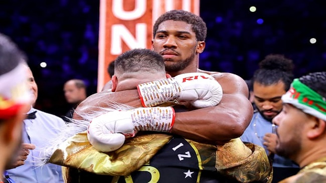 Boxing: Anthony Joshua regains his heavyweight titles