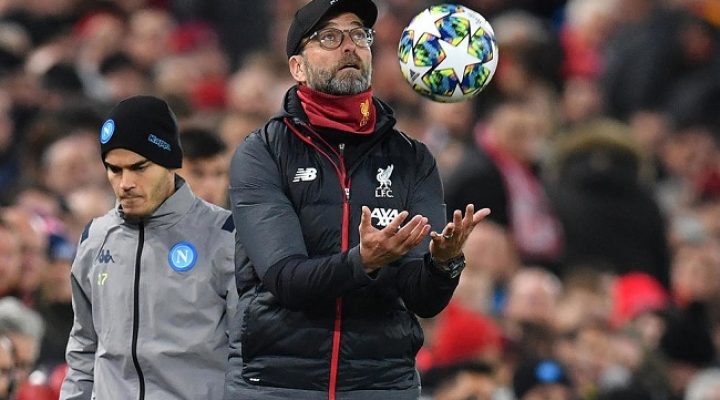 Football: Klopp doesn't care about Christmas No. 1 spot for Liverpool