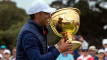 Golf: Tiger Woods says there was something extra special in winning the Presidents Cup