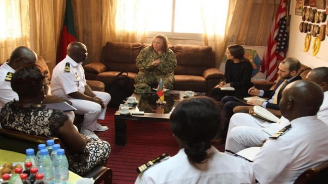 Biya regime claims US contribution to Gulf of Guinea Maritime Security broadens military cooperation  with Cameroon