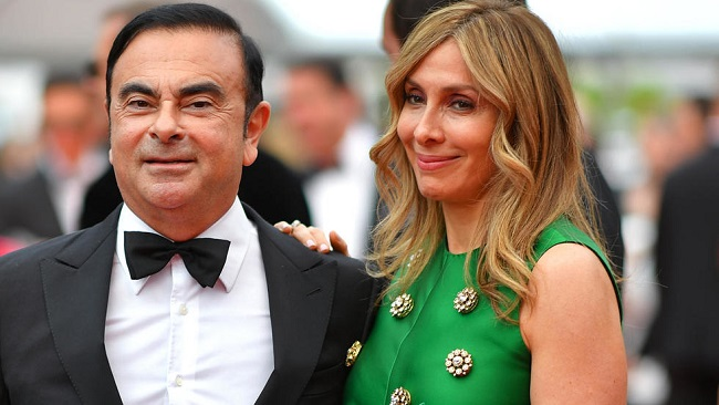 Nissan Affair: Arrest warrant issued in Japan for Carlos Ghosn's wife