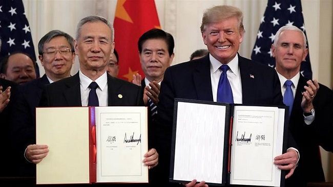 US and China sign 'phase one' trade deal, ending dramatic 18-month tit-for-tat
