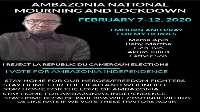 Why Southern Cameroonians are joining Vice President Yerima in boycotting the February twin poll