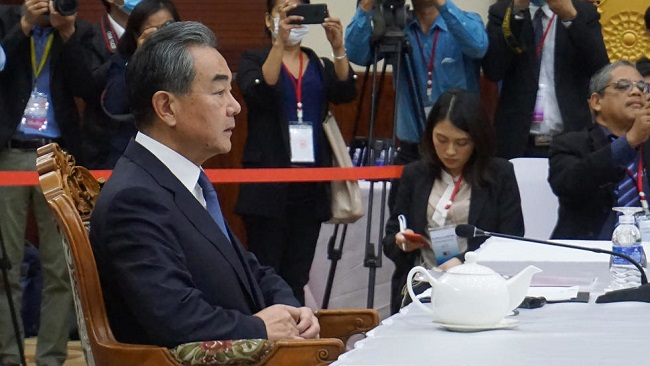 Chinese Foreign Minister says virus control efforts 'are working'