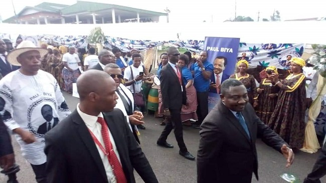 Cameroon: PM Ngute Campaigns in Buea