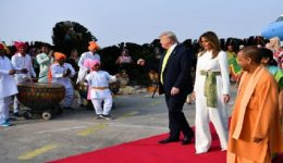 US President Trump in India amid strained ties over trade dispute