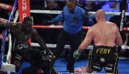 Boxing: Fury batters Wilder in TKO triumph in WBC heavyweight title rematch