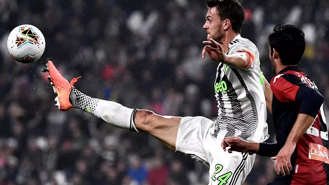 Football and coronavirus: Juve defender Rugani 'doing well' after diagnosis
