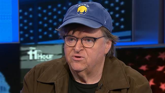 Michael Moore suggests Trump 'more dangerous' than coronavirus