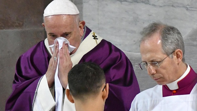 Pope Francis cancels planned retreat due to 'cold'
