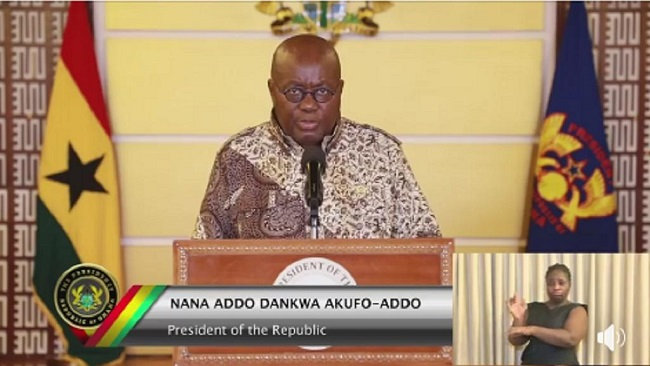 Ghana president self-isolates despite negative virus test