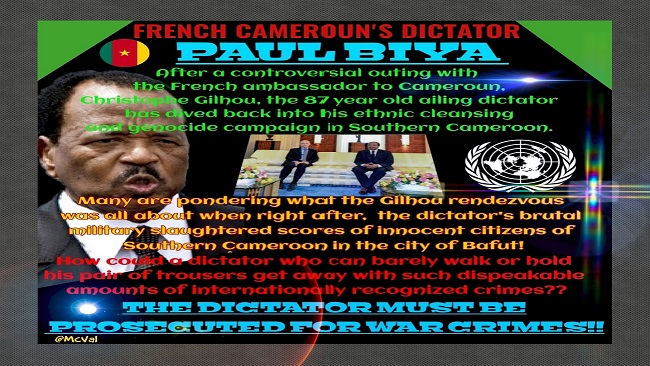 Doing business with Africa's Hitler: Switzerland's financial role in the Southern Cameroons genocide