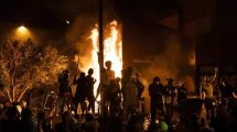 Riots erupt in several US cities over Minnesota police killing of handcuffed black man
