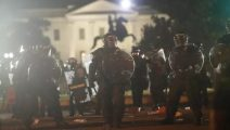 US: George Floyd protestors and police clash in front of White House