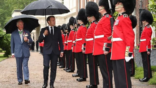 French President marks 80 years since de Gaulle's call to resistance at London ceremony