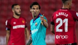 Messi on target as Barcelona return to action with thumping 4-0 win