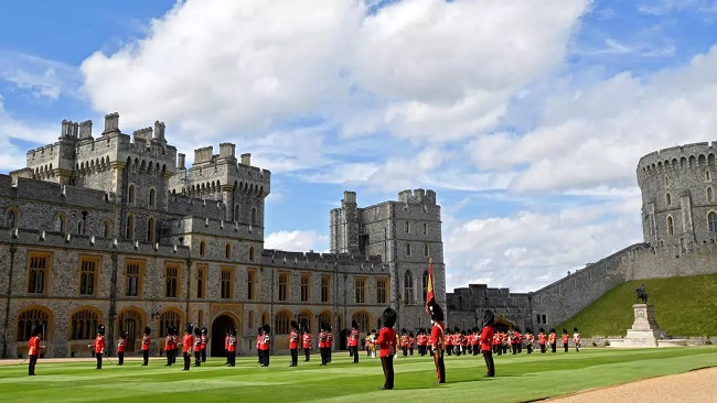 London: Queen Elizabeth II  marks official birthday with scaled-back parade at Windsor