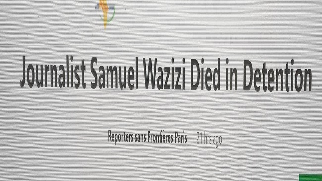 Journalist Samuel Wazizi's body may have been cut into pieces