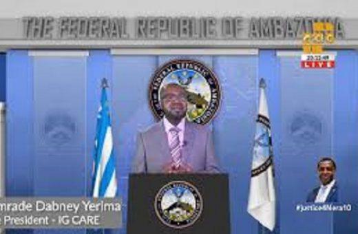Self defense sole way to liberate the Federal Republic of Ambazonia: Vice President Yerima