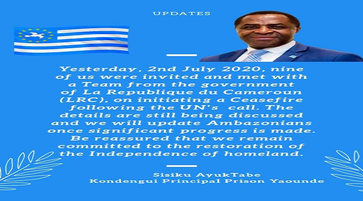 Southern Cameroons Crisis: The Talking has begun, but….