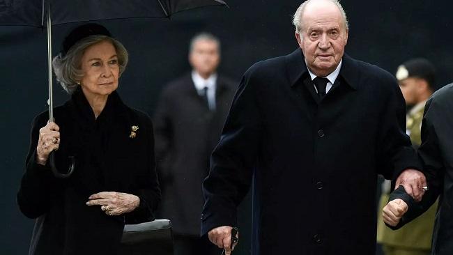 Spain's former king Juan Carlos is in the UAE