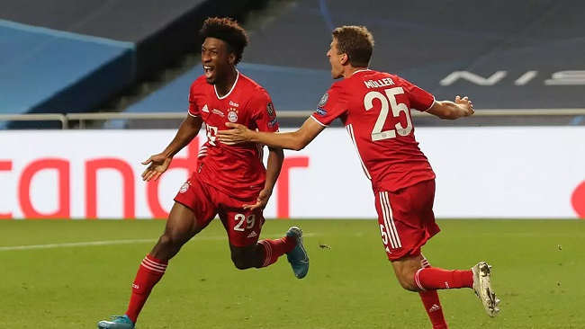Football: Bayern win Champions League as Coman goal defeats PSG