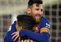 Football: 'Nothing surprise me anymore,' says Messi lamenting Suarez departure