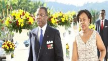 Ex-Defense Minister, wife on trial in French Cameroun corruption case