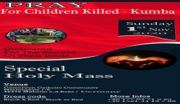 Kumba Massacre: 'Mass of Angels' to be held in Germany
