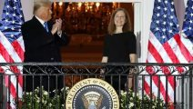 Senate confirms Amy Coney Barrett to US Supreme Court in victory for Republicans