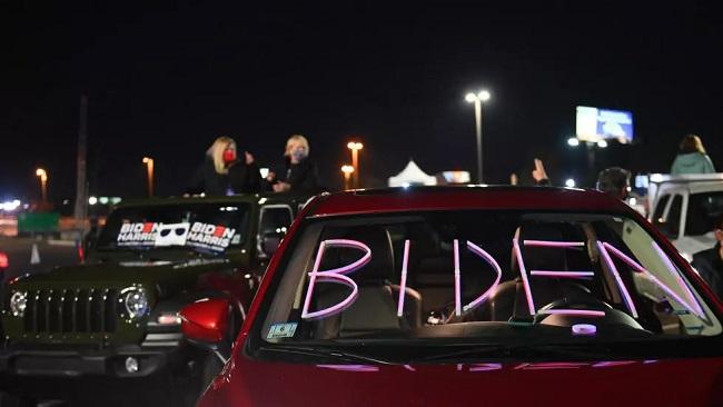 US: Democrats gather in Biden's home town ahead of speech