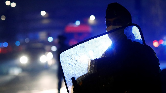 4 French police officers charged over black man's abuse; 2 in custody
