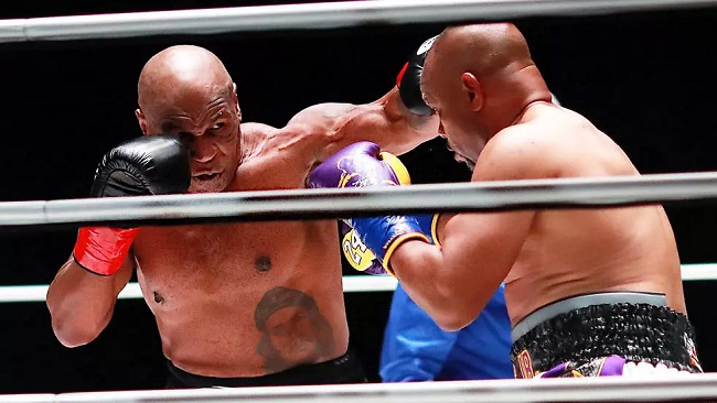 Iron Mike hungry for more after comeback fight ends in draw